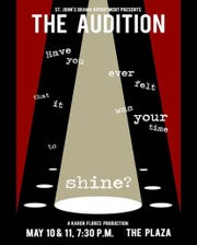"""The St. John's Drama Department will be presenting """"The Audition"""" May 10-11."""