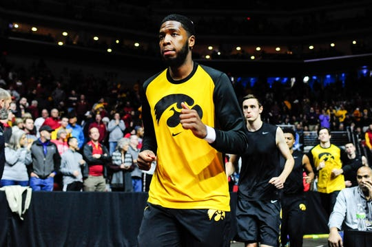 Isaiah Moss leaves the Iowa program with 906 career points and 96 starts over three seasons.