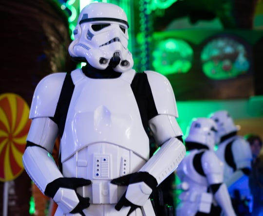 Star Wars Stormtroopers invaded The Children's Museum of Indianapolis during Museum by Moonlight on Feb. 23.