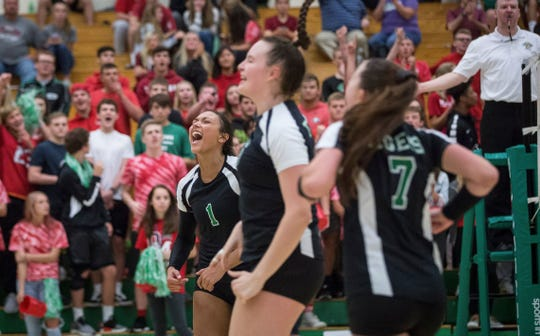 Yorktown volleyball went undefeated this season on its way to capturing another state title.