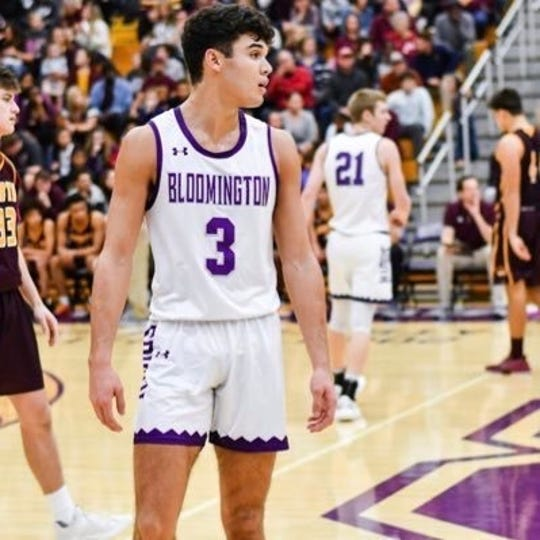 Bloomington South rising senior Anthony Leal.