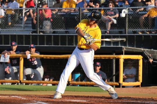 Matt Wallner hit two home runs as Southern Miss defeated Ole Miss, 5-3, in Hattiesburg on Wednesday, May 1, 2019.
