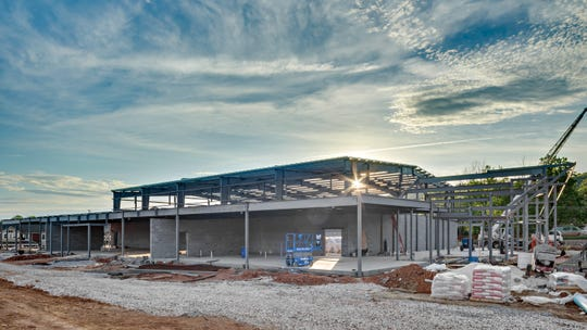 April 24, 2019: The Emerald Youth Foundation's Lonsdale Ministry Complex already is under construction on Texas Avenue. The Health Center will account for about 2,400 square feet.