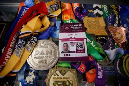 Medals won by West Lafayette resident Carlos Soto, who received two gold medals at the Pan-American Championships in Argentina last month.