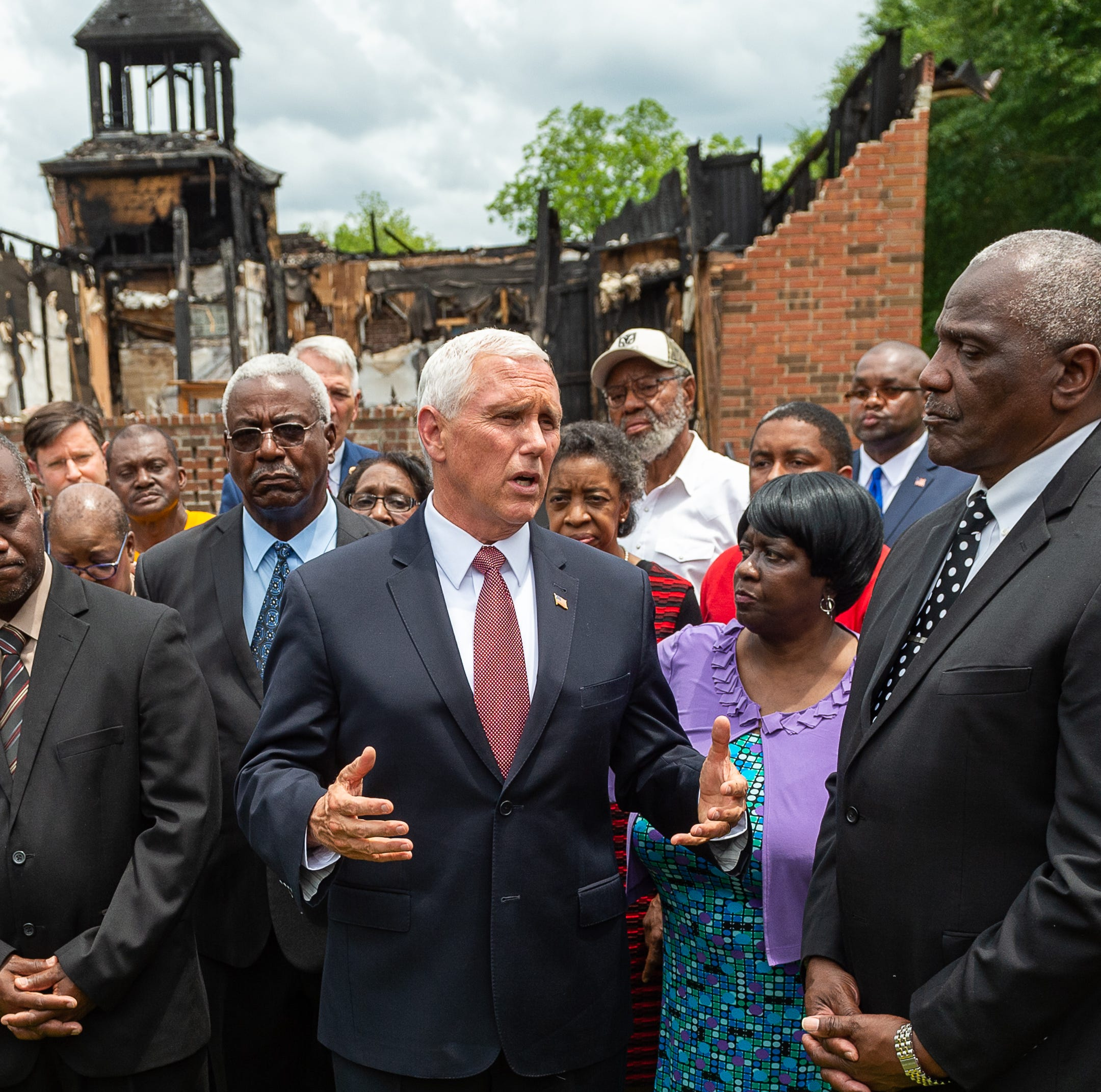 Mike Pence's visit to Opelousas: Louisiana churches 'overcame evil with good'