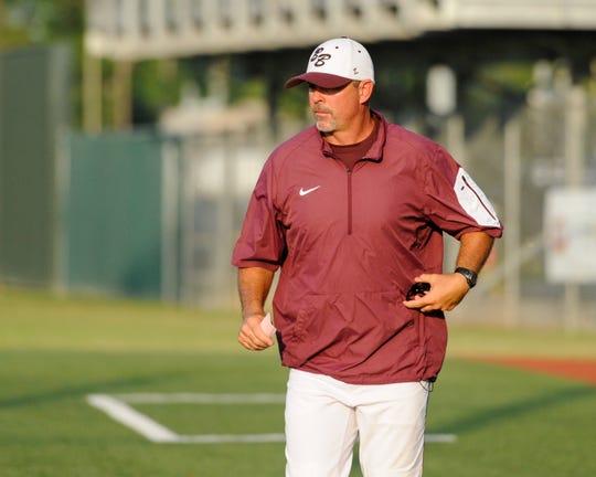 Breaux Bridge baseball coach Kyle Cormier.