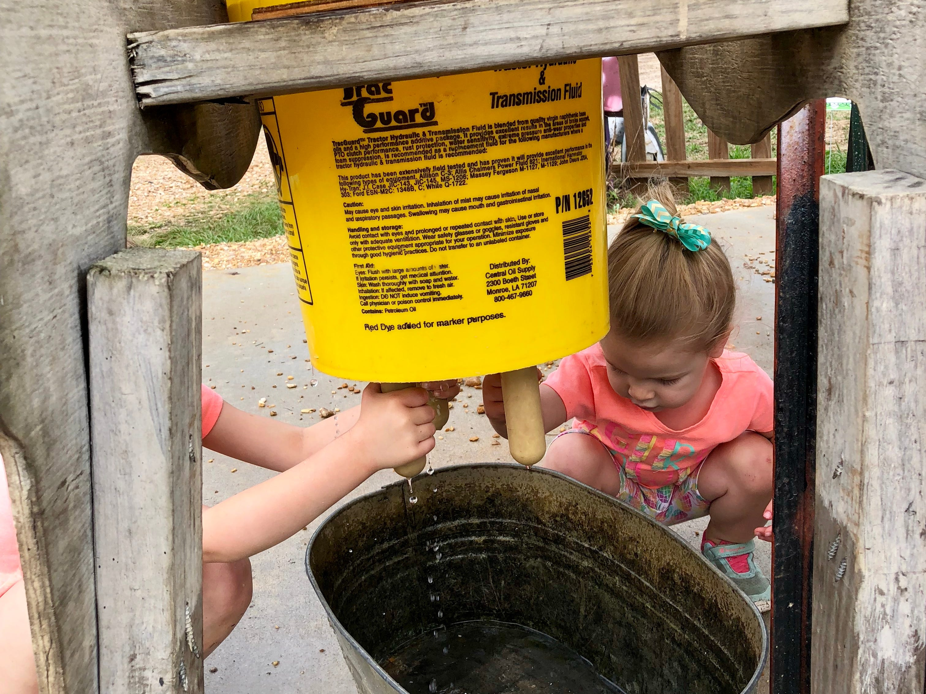 Visitors can pick fruit, learn to milk a cow and play at Mrs. Heather's Strawberry Farm in Albany, Louisiana.