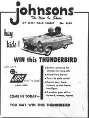 This ad ran in the April 25, 1956 Lancaster Eagle-Gazette.