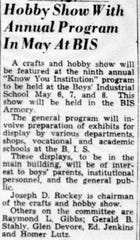 This article is from the April 3, 1956 Lancaster Eagle-Gazette.