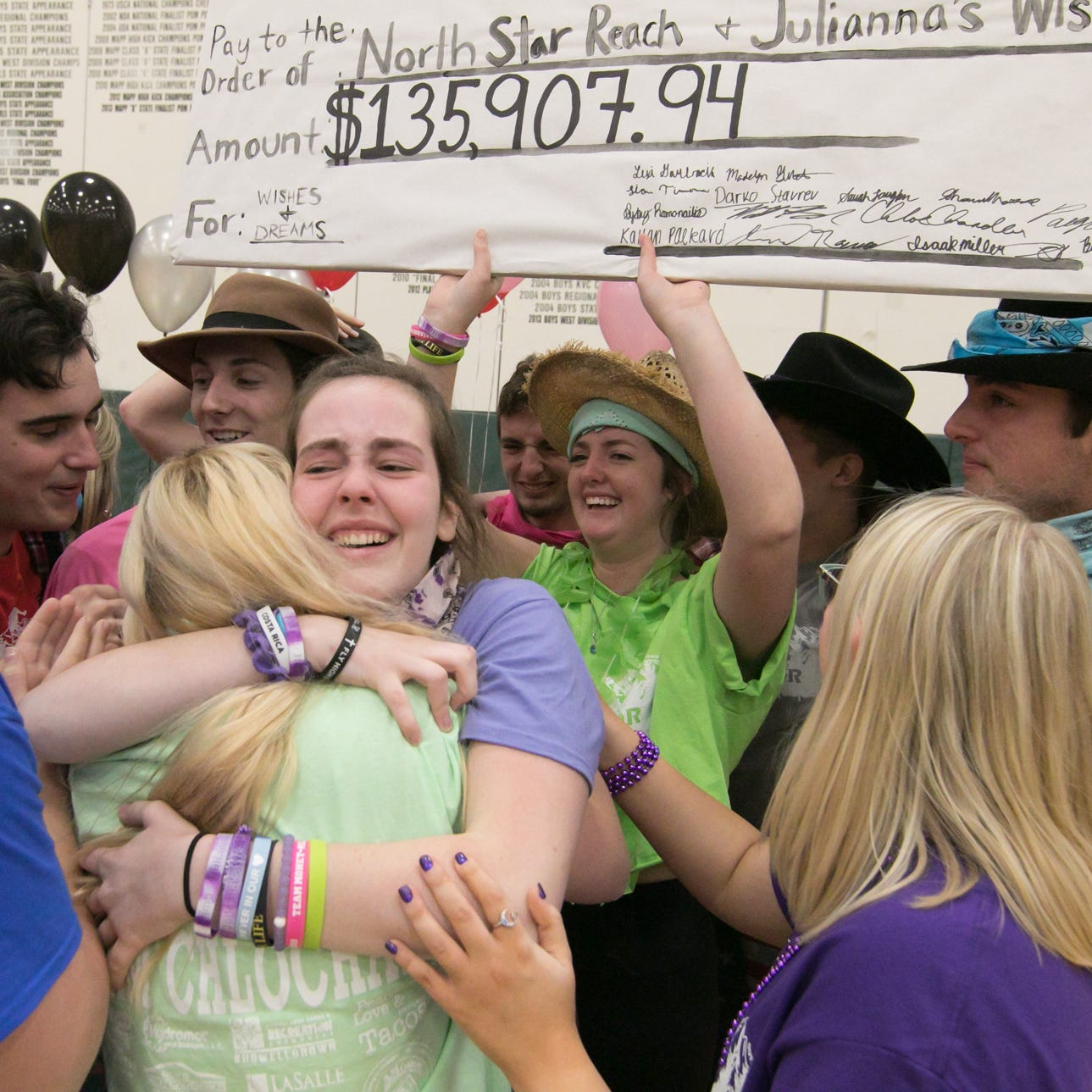 Howell High School's 'Senior Survivor' event raises $135K for charity