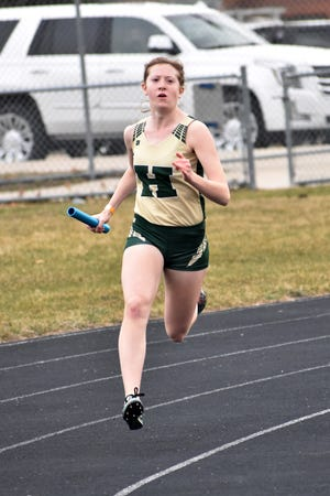 Ashlyn Tait of Howell has won the 800 in five of her six meets.