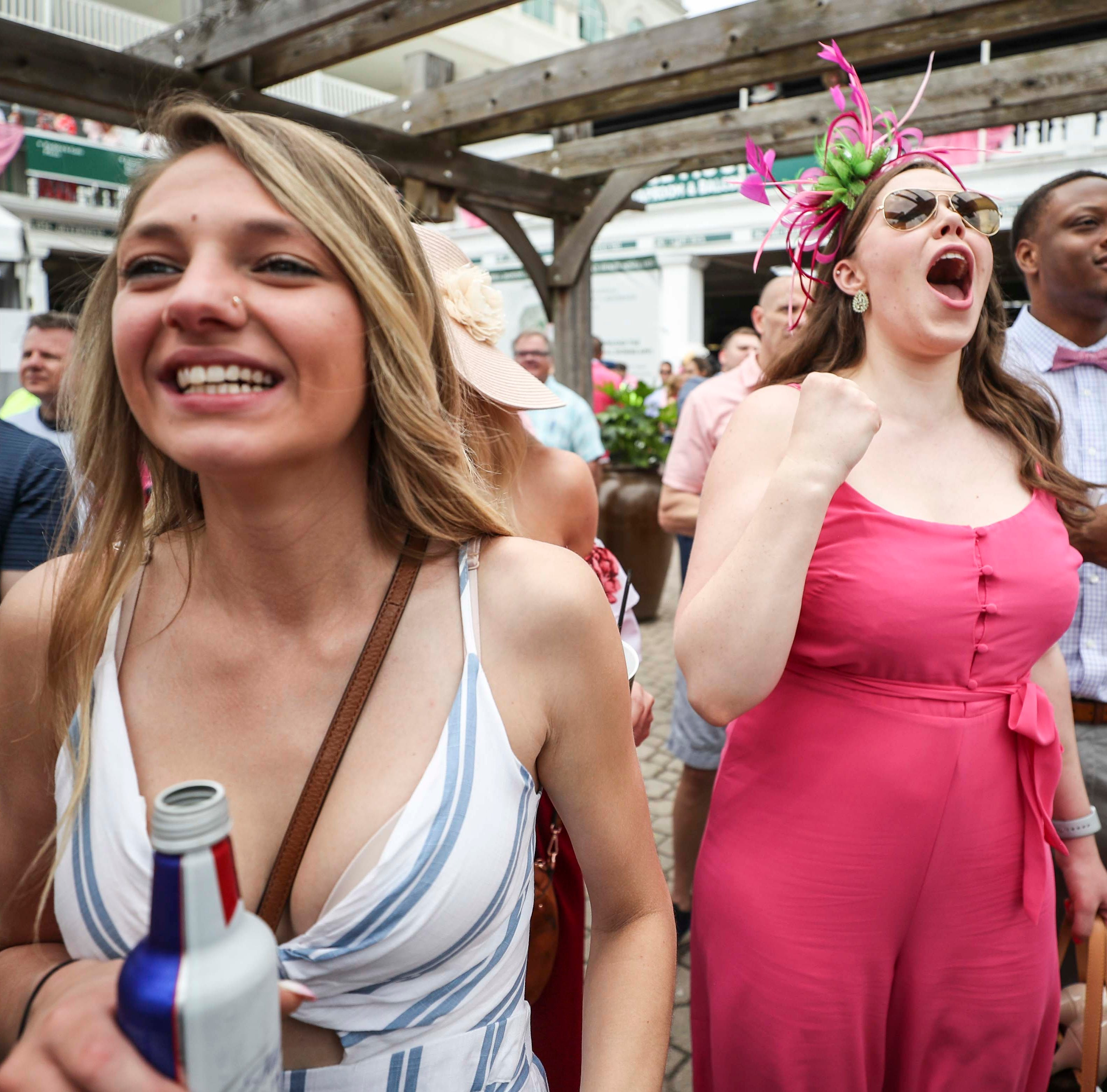 'We're loving it!' 145th running of the Kentucky Oaks thrills crowds with crazy scenes