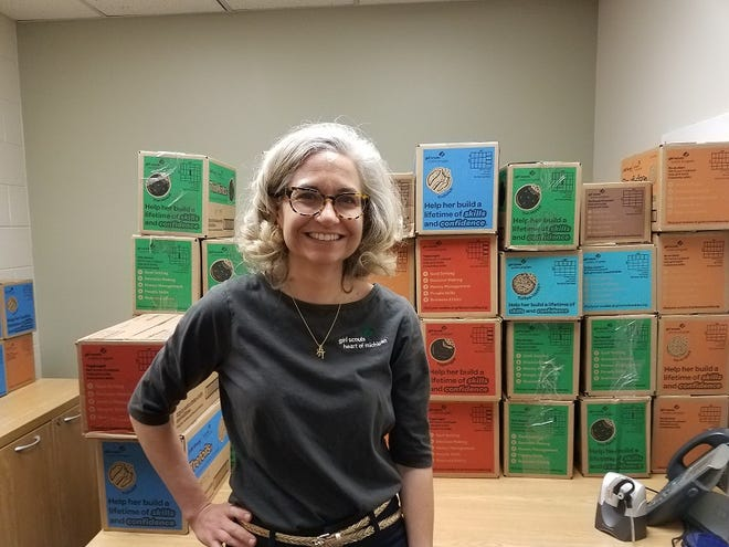 Stacy Jenkins is a product program specialist for the Girl Scouts Heart of Michigan council.