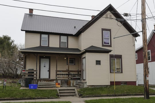 The house where roommates Rena L. Santiago, Bianca M. Bush and David R. Heiden resided on the east 2100 block of River Street Thursday, May 2, 2019, in Two Rivers.