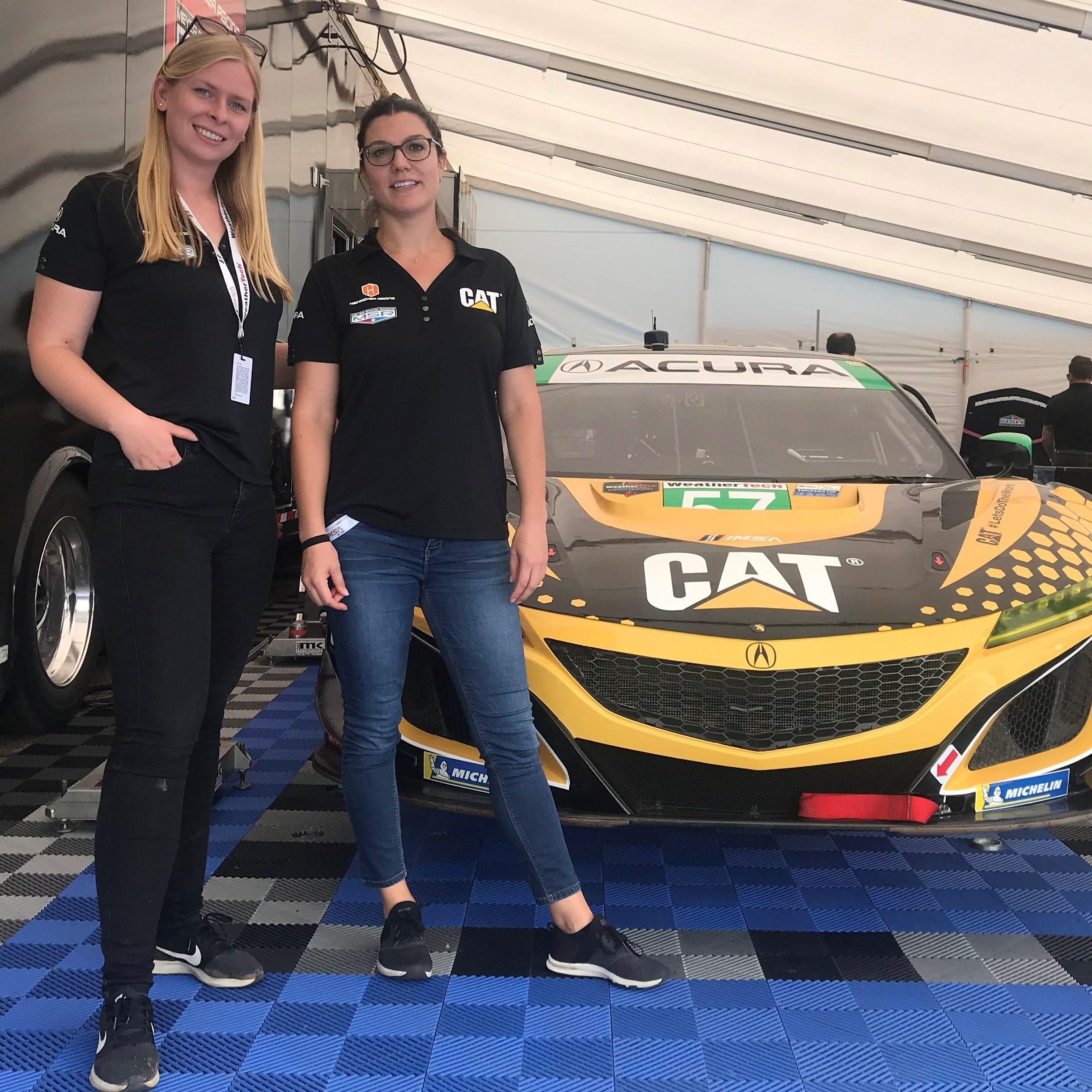 Girl Power: Nielsen, Legge ready to take sports car racing by storm as all-female team