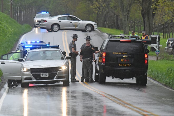 Law enforcement captured an escaped man Friday afternoon at Hanley and Berry roads.