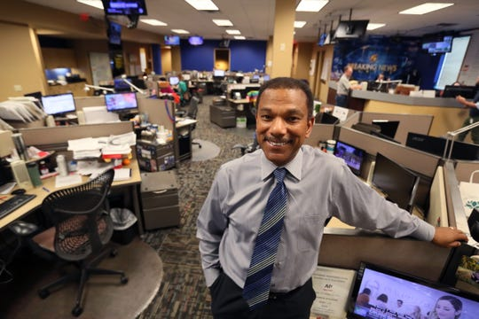 Memphis native Jarvis Greer has worked at WMC-TV for 40 years.