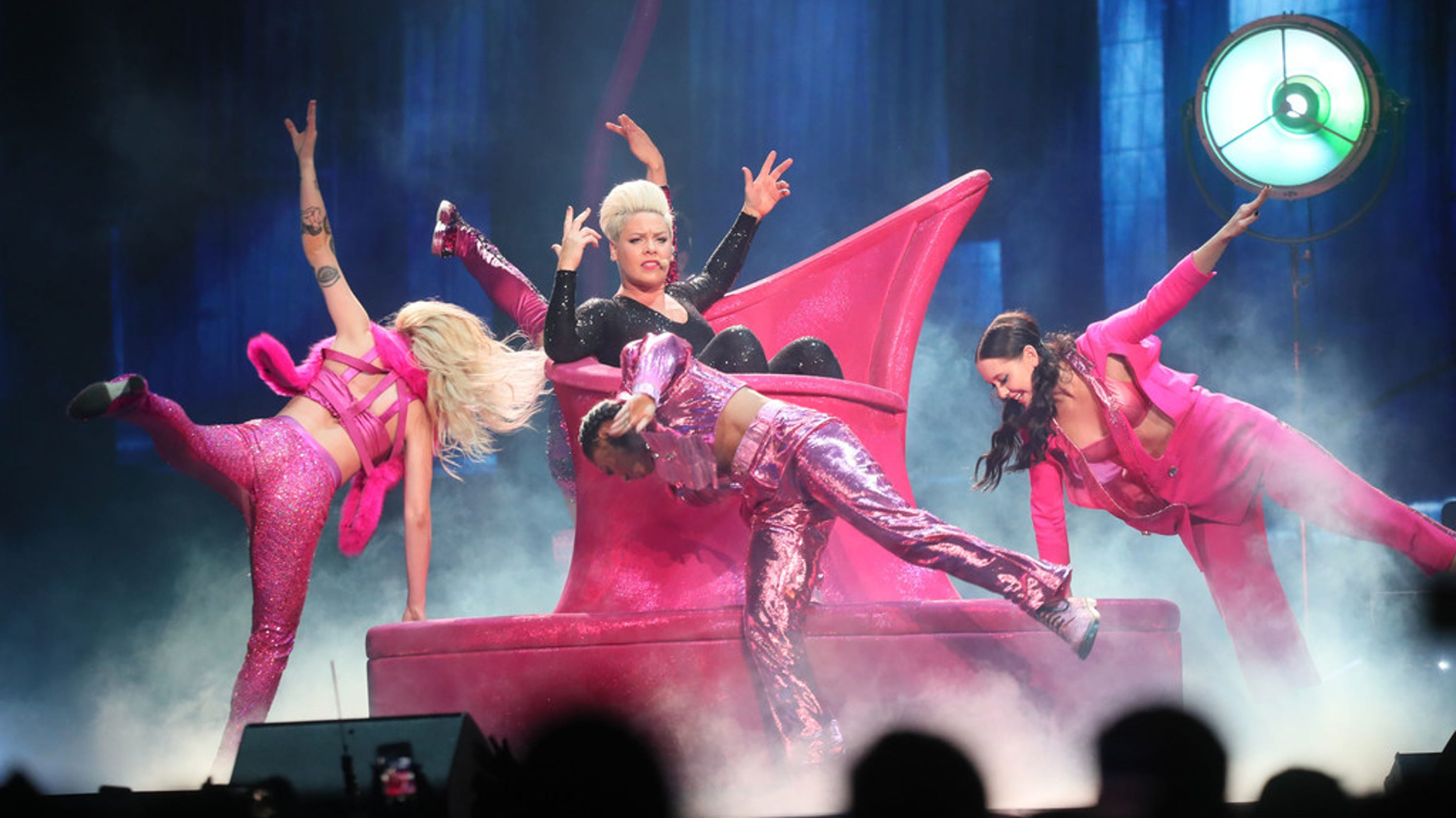 Pink, one of pop's greatest performers, reaches new peak in