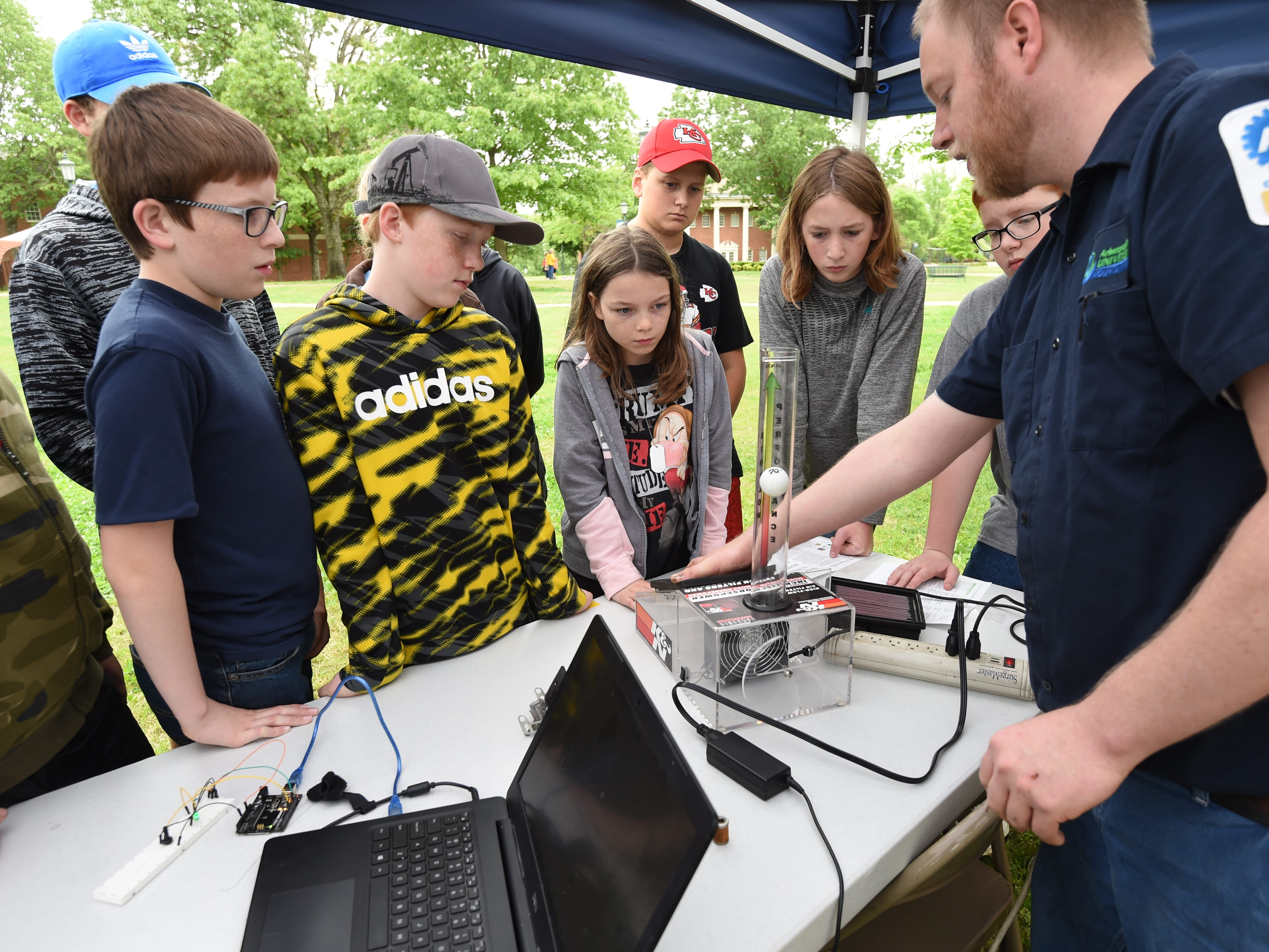 Students from schools across the Twin Lakes Area gathered Friday at Arkansas State University Mountain Home for the S.T.R.E.A. M. 2.0 event. The event is designed to teach kids about science, technology, reading, engineering, arithmetic and mathematics through participating in a variety of hands-on activities.