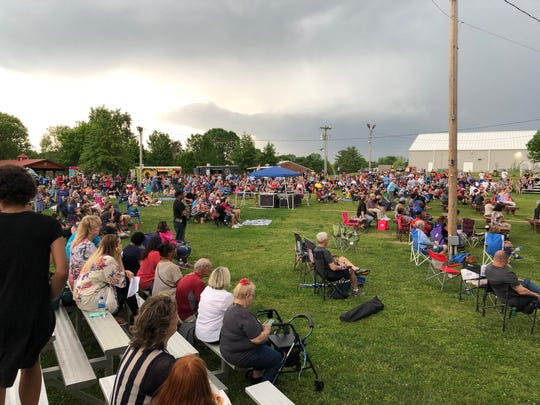 A community prayer gathering was held May 1, 2019, at Charlie Daniels Park in Mt. Juliet.