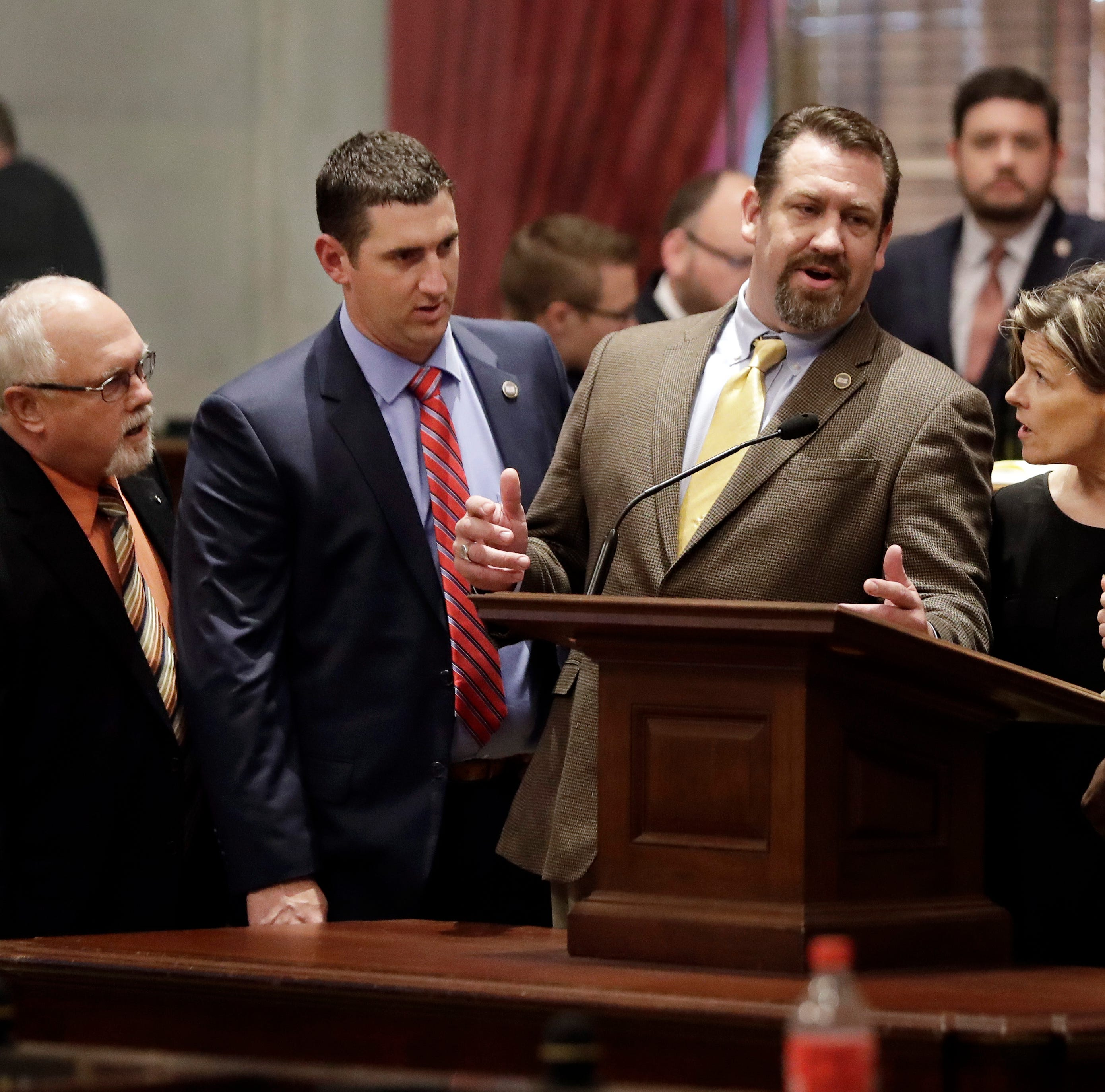 Chaos, an altercation and a Democratic walkout mark closing hours of the Tennessee legislative session