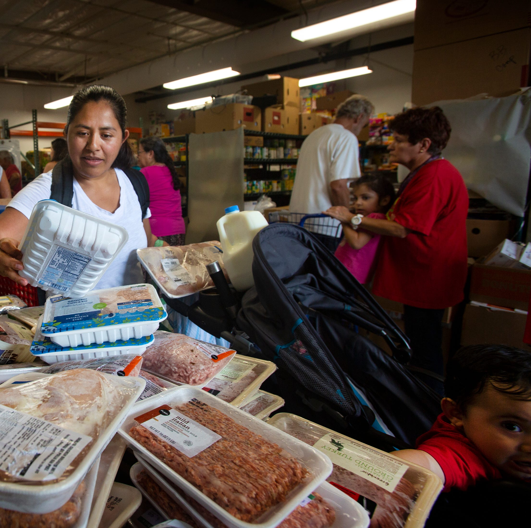 Feeding America maps out food insecurity across U.S.
