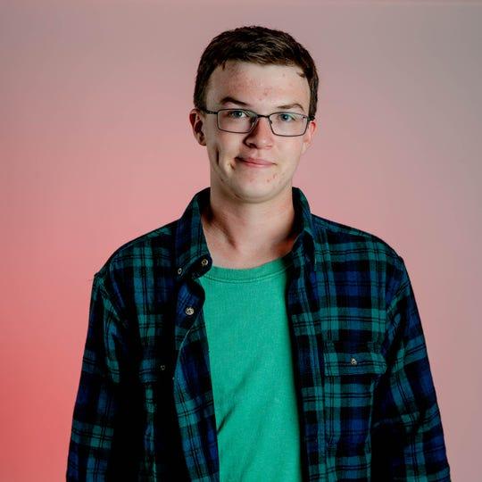 Blake Hankey is the Graduate of Distinction at Palmetto Ridge High School.