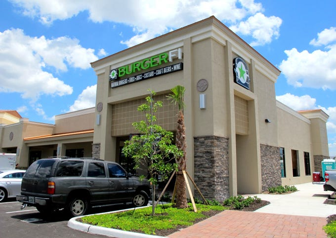 BurgerFi is reopening in Creekside Corners on the southeast corner of Goodlette-Frank and Immokalee roads in North Naples.