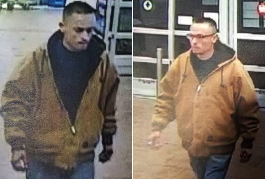 Las Cruces police suspect this man of stealing a $1,300 cell phone from Wal Mart.