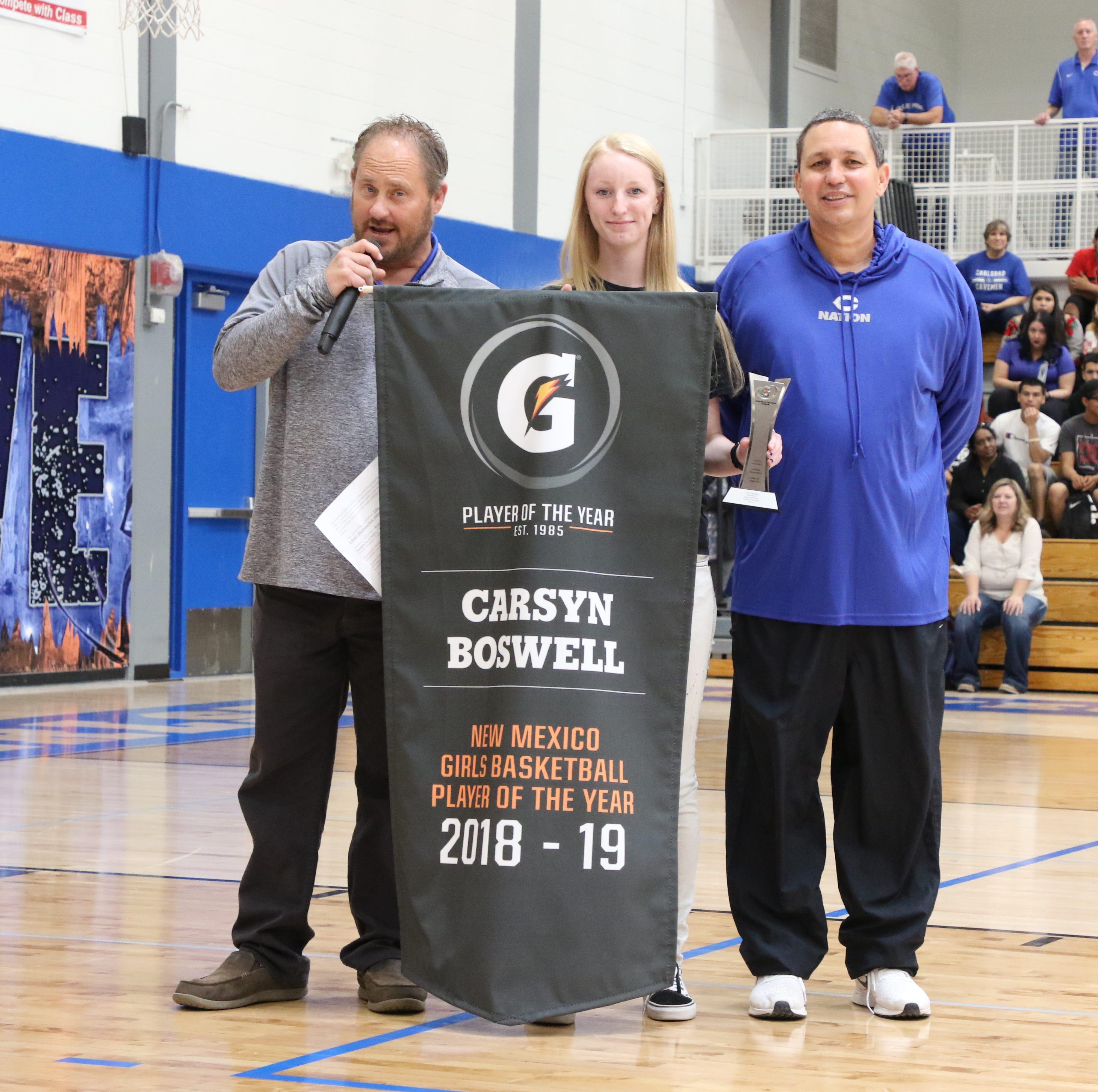 Carsyn Boswell: A true record-setter for Cavegirls basketball