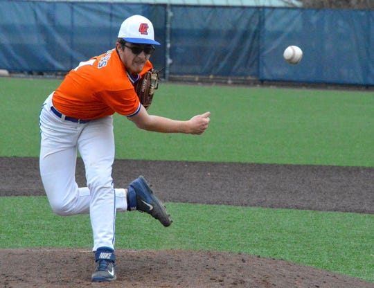Garden City's Jacob Grant has been voted Athlete of the Week for his performance on the mound.