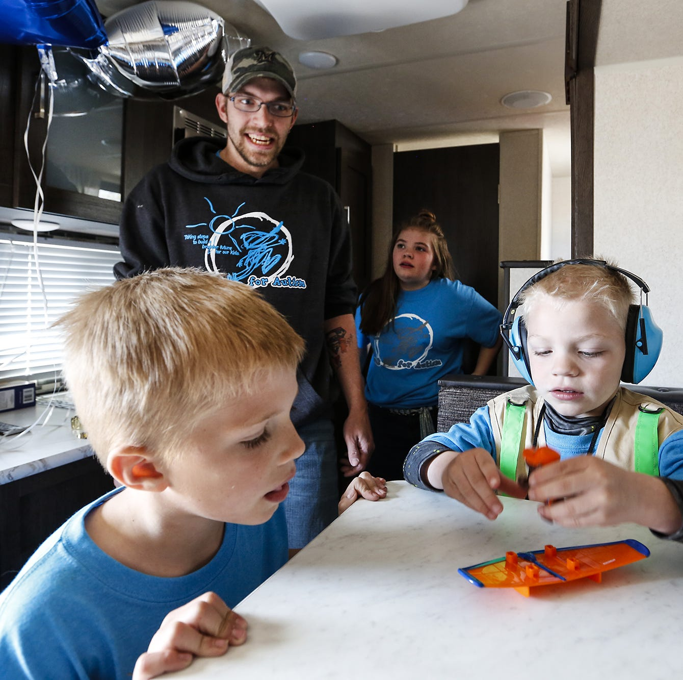 Hortonville child battling critical illnesses receives an RV through Make-A-Wish Foundation