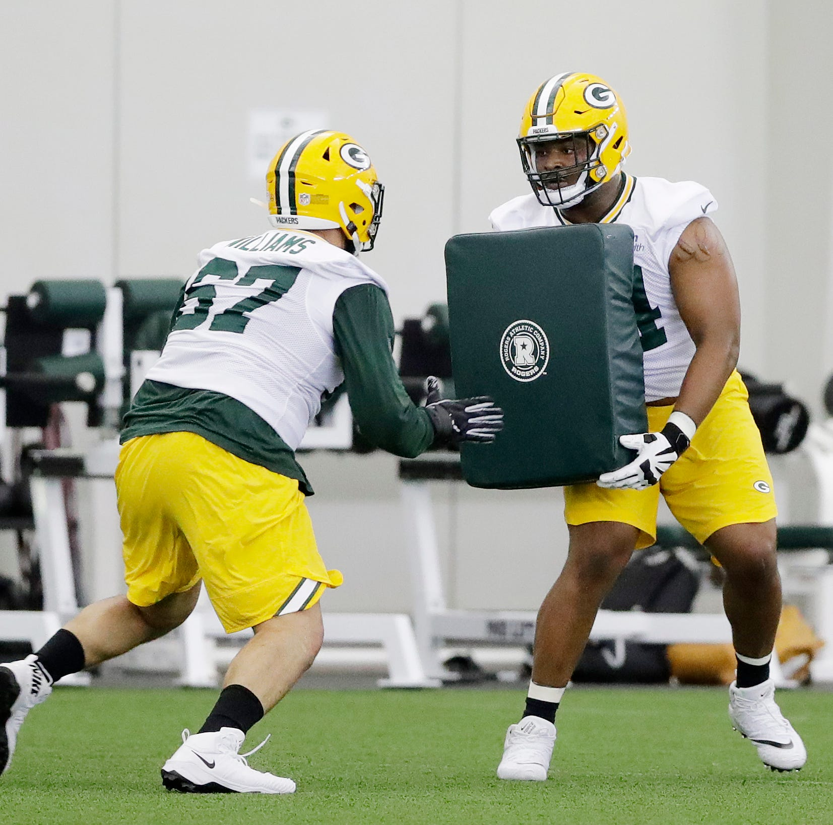 Packers rookie Elgton Jenkins deflects attention like he does opposing pass rushers