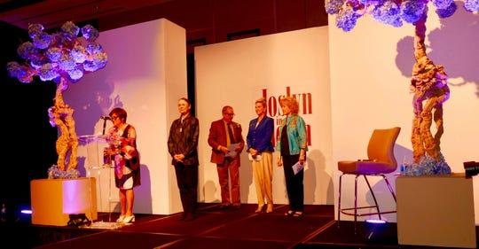 From left: Aurora Wilson, Kathleen Kelly, Jack Newby, Kimberly Muzik and Iris Smothrich