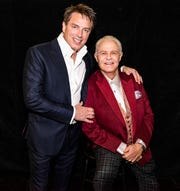 Actor John Barrowman, left, and Producer Michael Childers