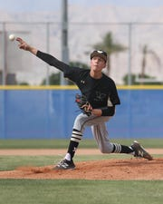 Seth Mattox of Xavier Prep pitched a two-hitter with 11 strikeouts to help lift the Saints to a 3-0 win over Indio in the CIF baseball playoffs Thursday, May 2.