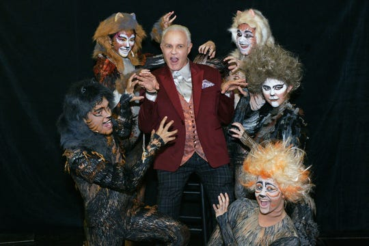 """""""One Night Only"""" Producer Michael Childers and his """"Cats"""""""