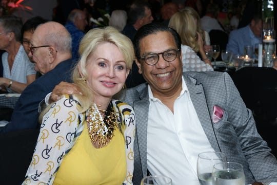 Marylynn Gladstein, left, and Raju Mehta