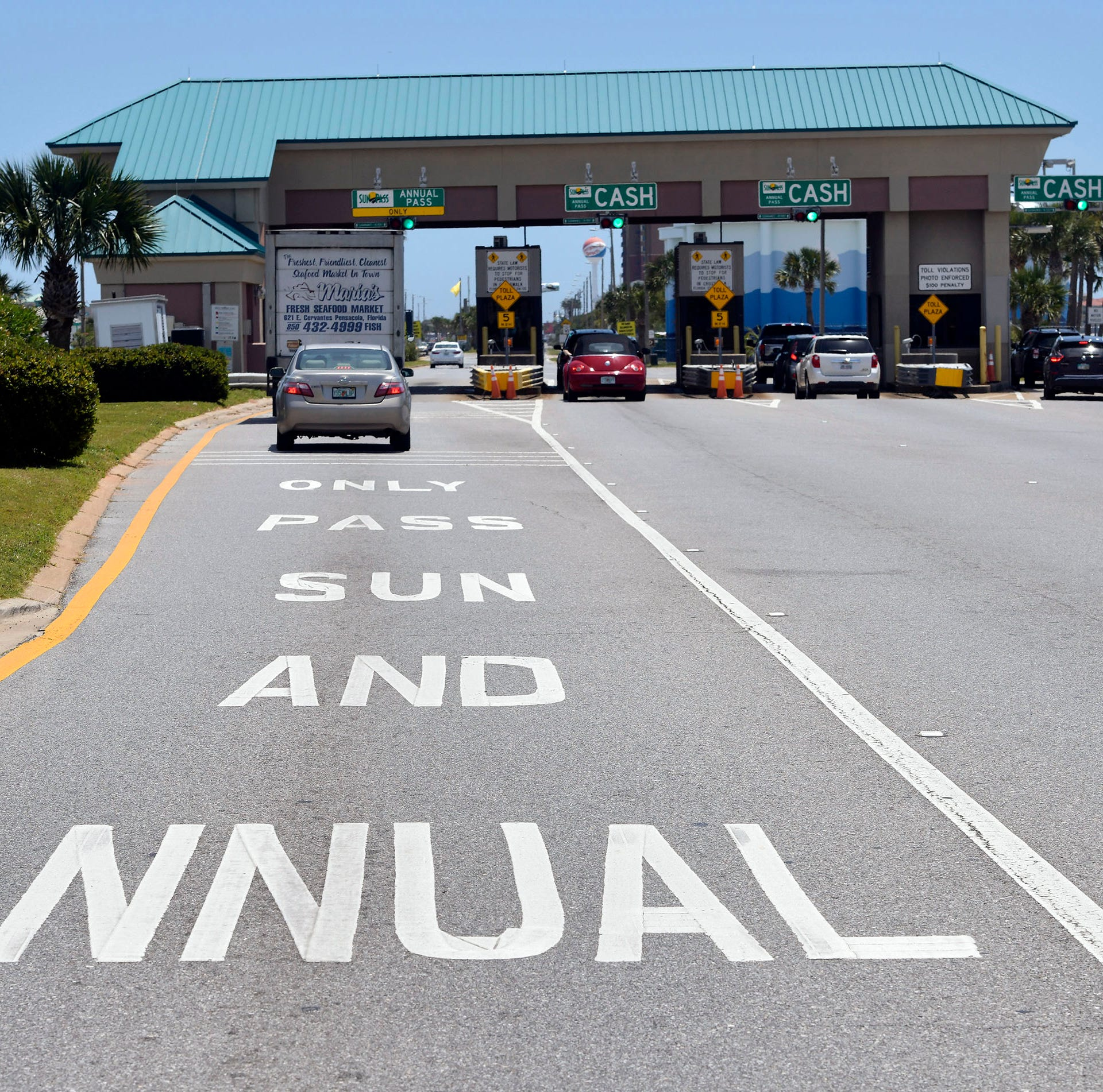 More SunPass lanes coming to Pensacola Beach. Will it help alleviate traffic?