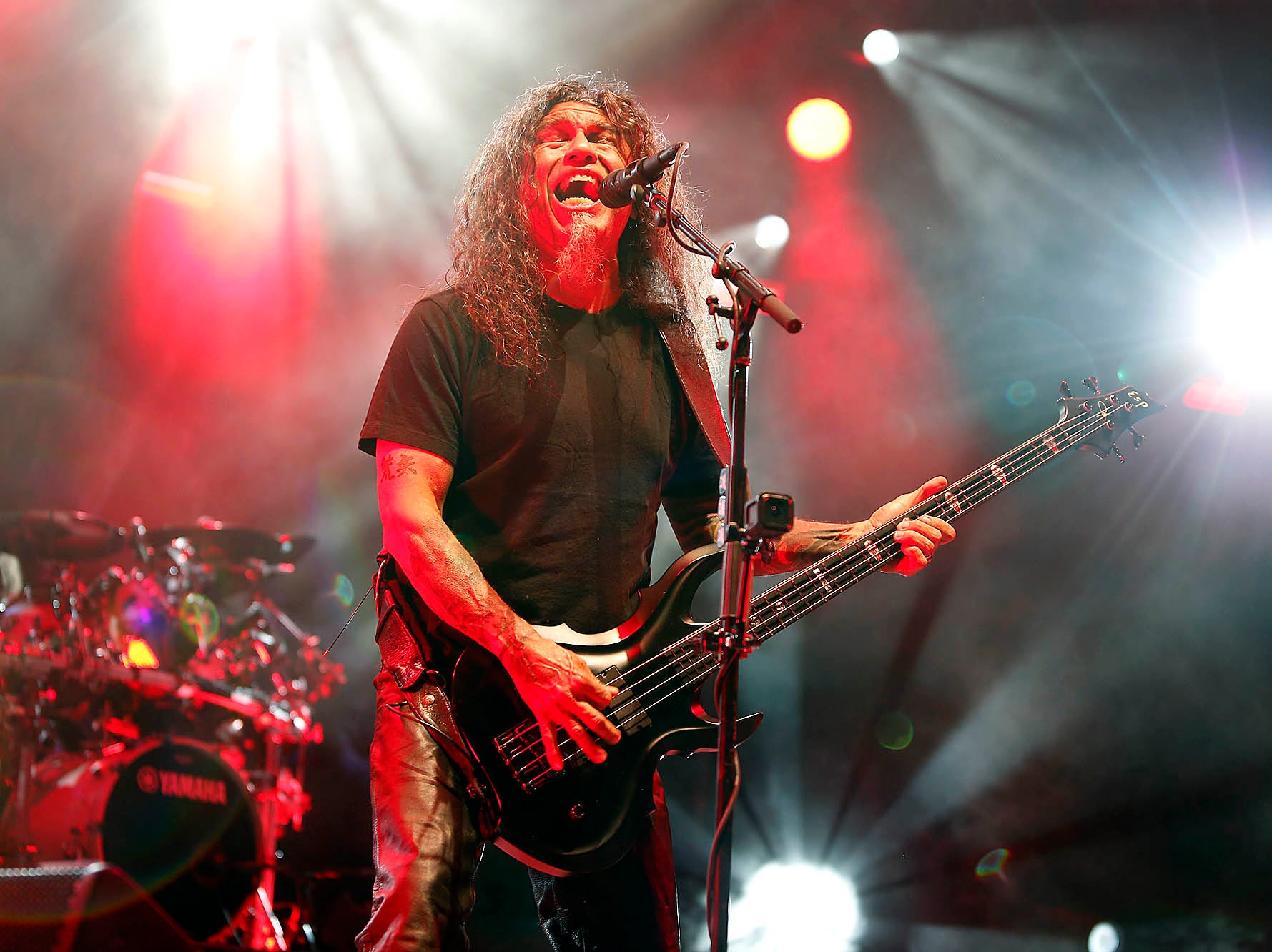 Slayer performs at Ak-Chin Pavilion in Phoenix on May 2, 2019.