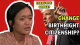 President Donald Trump in an interview said he could issue an executive order to  change the 14th Amendment to restrict birthright citizenship.