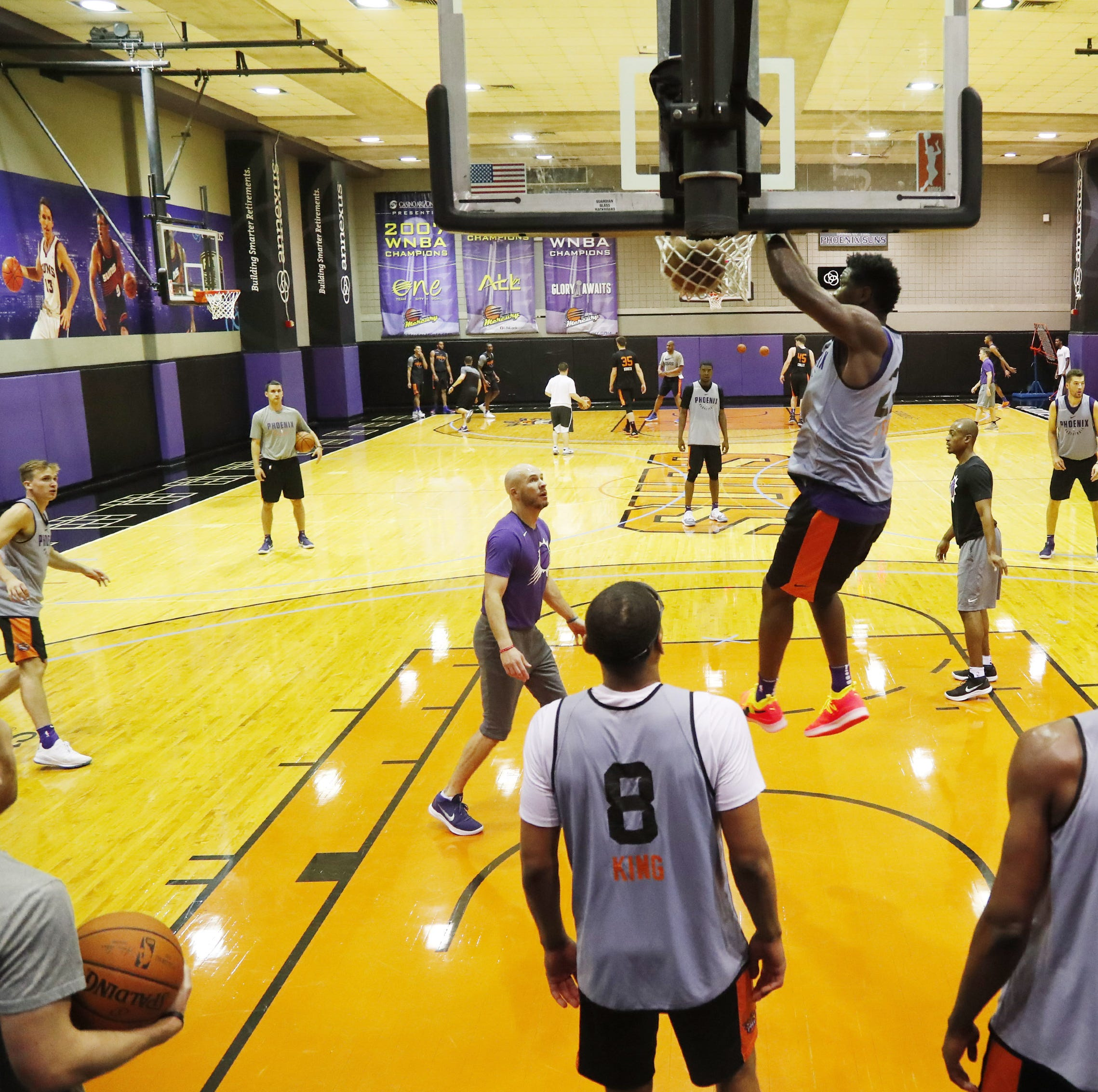 Phoenix Suns set to build practice facility near 44th Street and Camelback Road