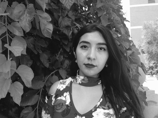 Local poet Jacqueline Aguilar