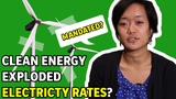 Did a clean energy mandate really cause California electric rates to increase to three times the national average?