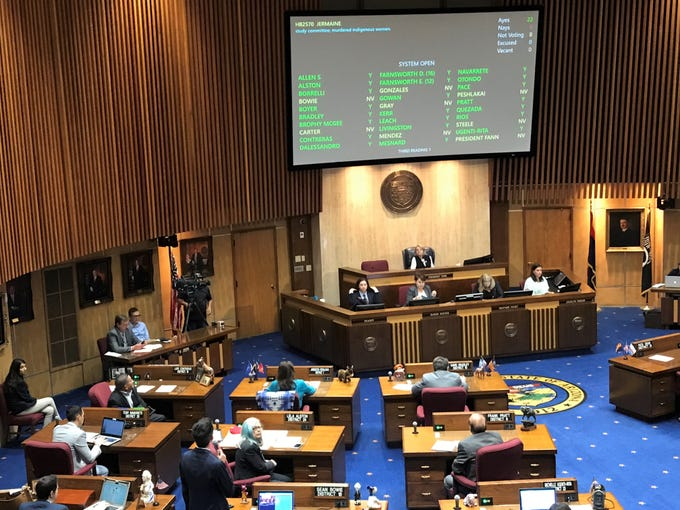 House Bill 2570 goes up for a vote in the Arizona Senate on May 2, 2019. It passed the vote with 28 ayes, 0 nays and 2 not voting.