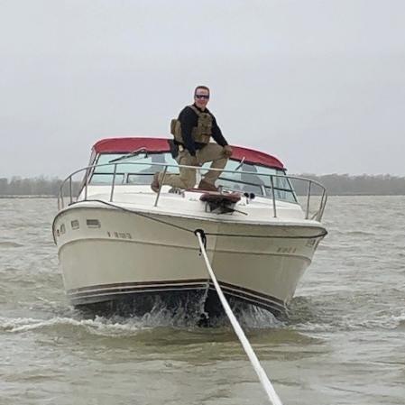 Boat collides with Port Clinton drawbridge; passengers rescued