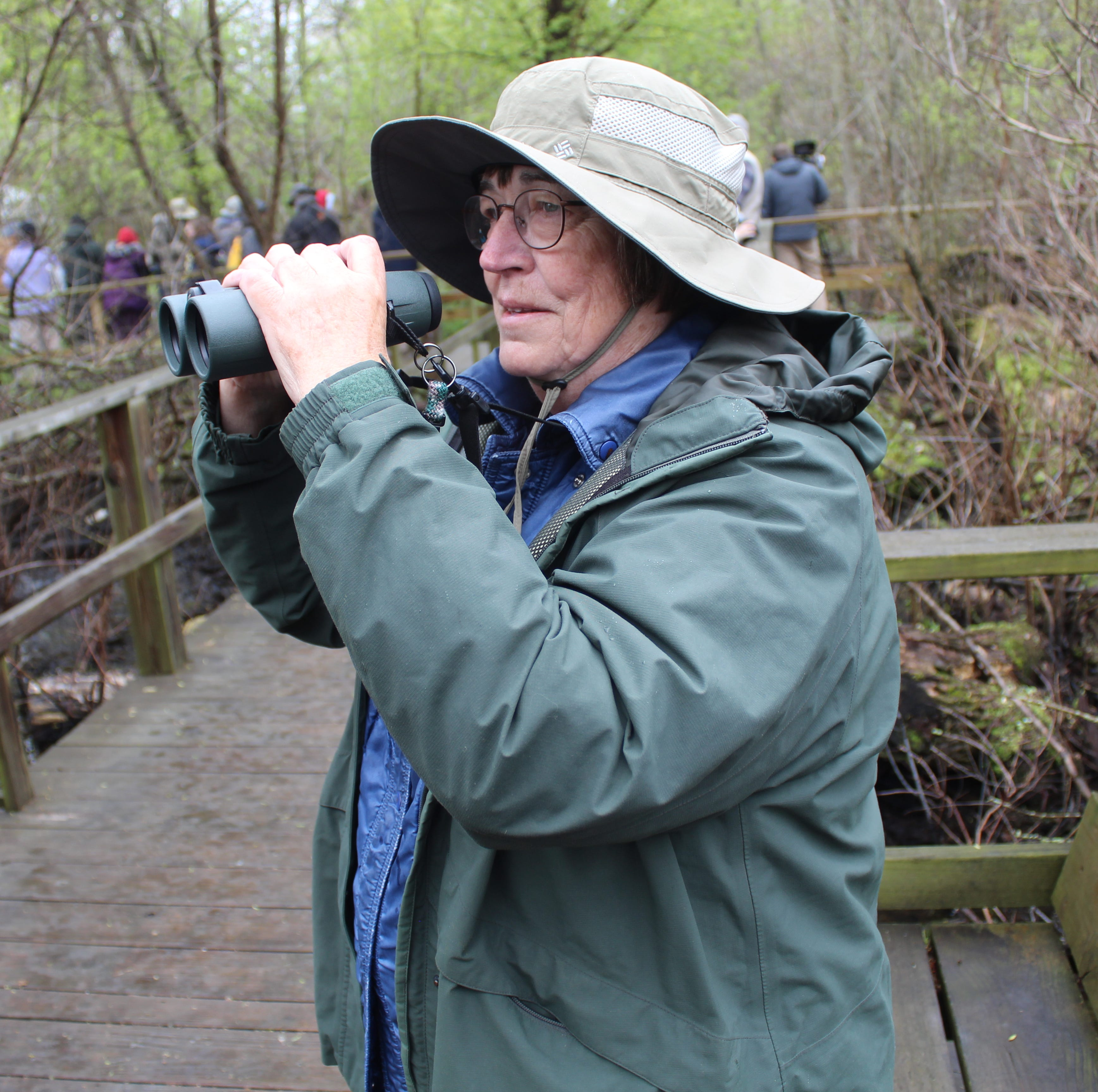 Birders flock to Magee Marsh on first day of Biggest Week