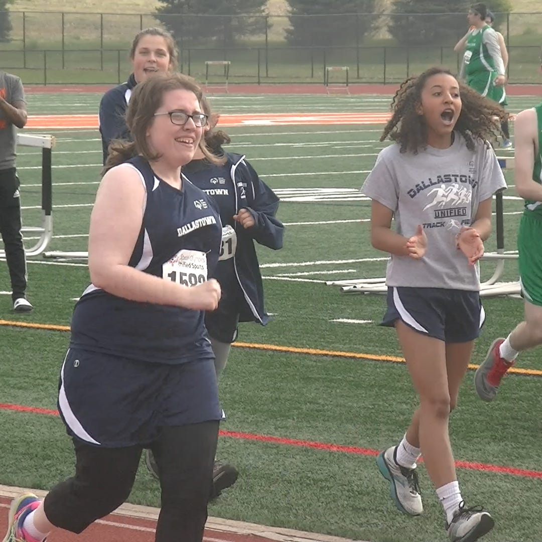 Unified track gives students with disabilities the chance to compete with classmates