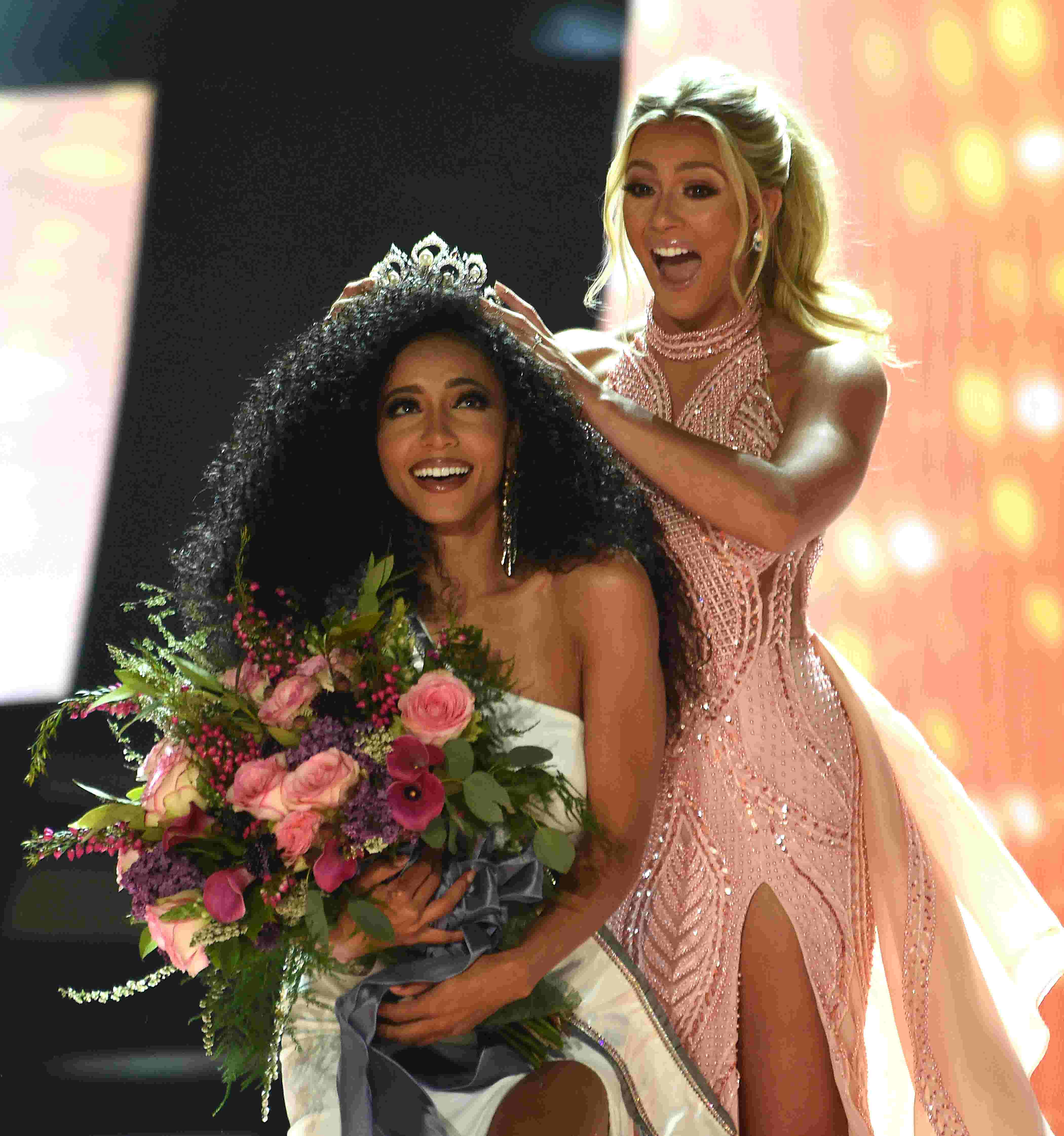Watch: Cheslie Kryst crowned Miss USA in Reno