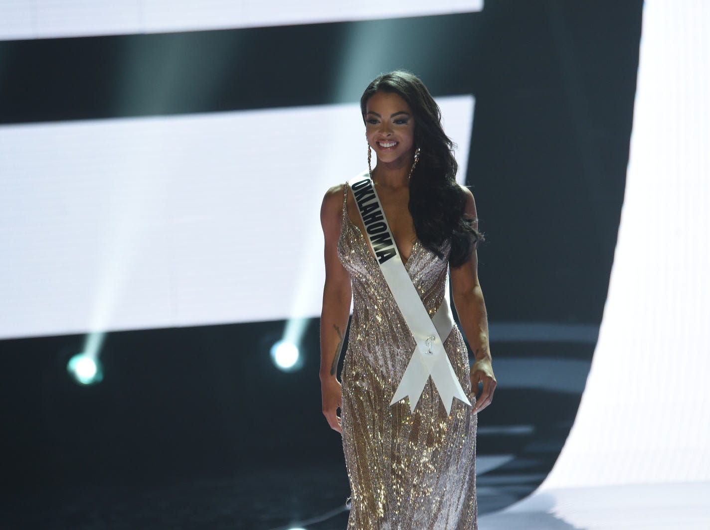 The 2019 Miss USA final competition in the Grand Theatre in the Grand Sierra Resort in Reno on May 2, 2019.